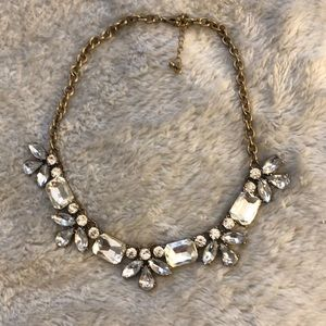 Jewelry - Diamond and Gold Statement Necklace
